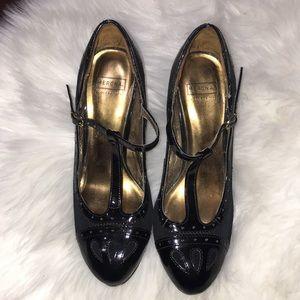 Black merona heels